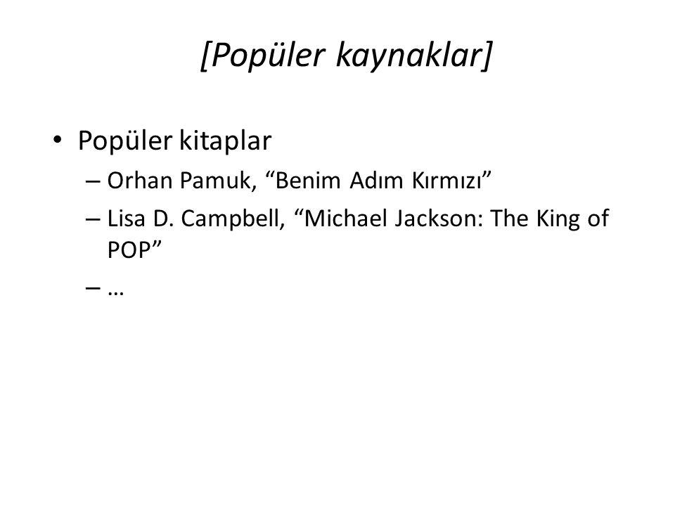 [Popüler kaynaklar] Popüler kitaplar Orhan Pamuk, Benim Adım Kırmızı